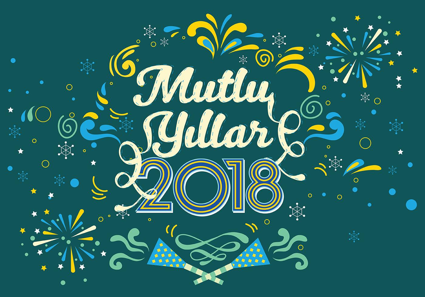 Yeni Yılı Tebrikler 2018 91