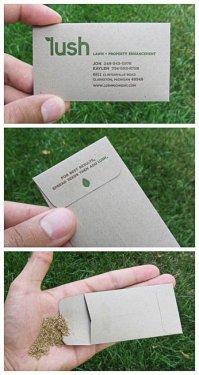 Sıradışı kartvizit tasarımları..