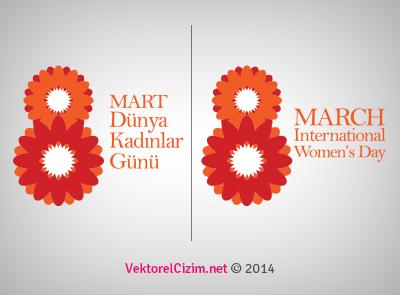 08 Mart Dünya Kadınlar Günü Banner