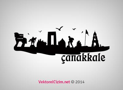 Çanakkale Şehir Silüeti
