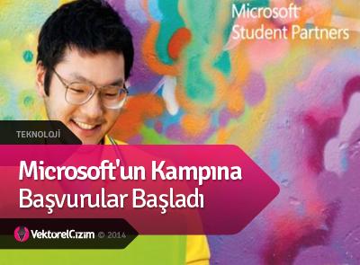 Microsoft'un Kampına Başvurular Başladı