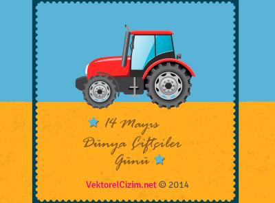 Traktör, Dünya Çiftçiler Günü