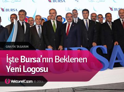 İşte Bursa'nın Beklenen Yeni Logosu