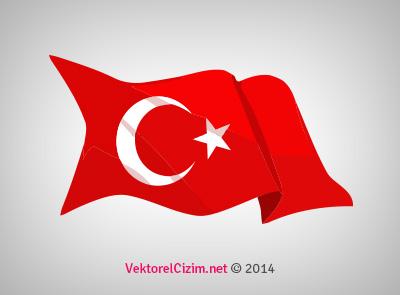 Dalgalanan Türk Bayrağı, Ay Yıldız