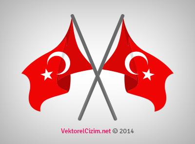 İkili Türk Bayrağı, Sancak
