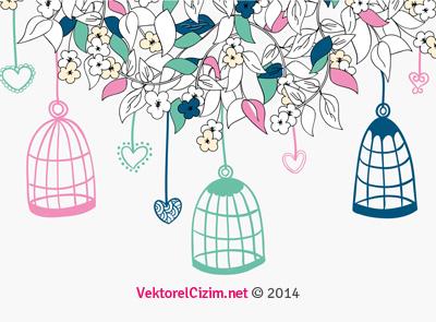 Kuş Kafesi, Çiçekler