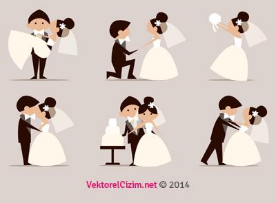 Düğün, Gelin, Damat